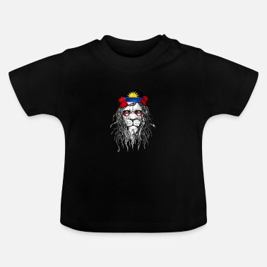 Antigua Antigua and Barbuda Helmet Motorcyclists - Baby T-Shirt
