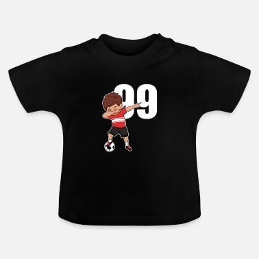 Number Awesome Soccer Player Number 99 Soccer Athlete - Baby T-Shirt