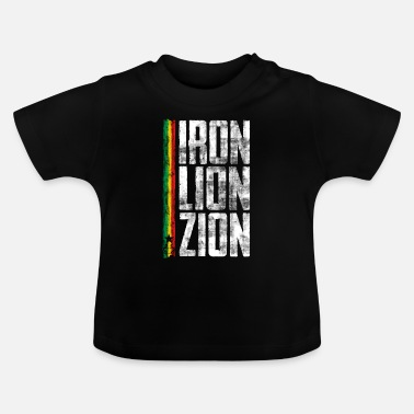 Dub iron lion zion ulv - Baby T-Shirt