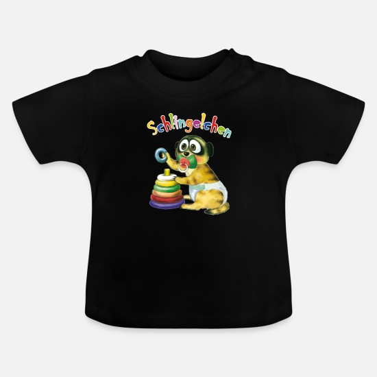 Scamp Baby Clothes - Baby rascal - Baby T-Shirt black
