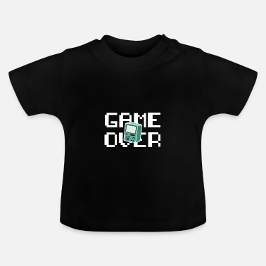 Retrogaming Game Over Retrogaming - Baby T-shirt