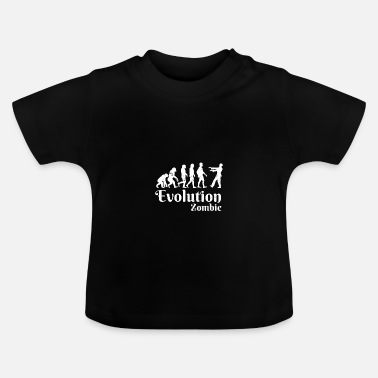 Jæger Zombie Evolution Horror Halloween Kostume Gave - Baby T-shirt