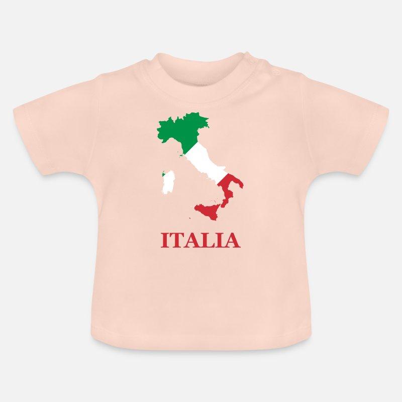 Italia Baby T Shirt Spreadshirt