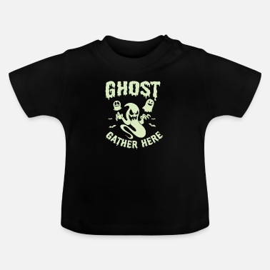 Magic The Gathering Halloween Shirt Ghosts Gather Here Costume Gift Tee - Baby T-Shirt