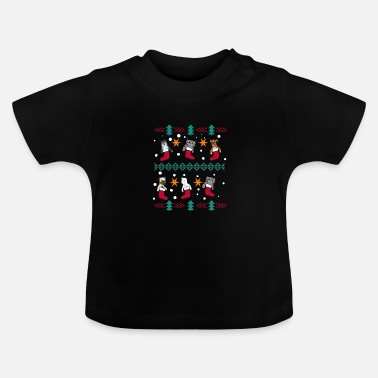 Gift Christmas Cats Dogs Christmas Gifts - Baby T-shirt