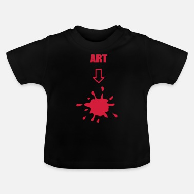 Art Art, arts - T-shirt Bébé