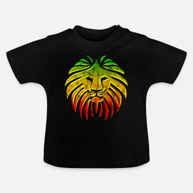 Rasta LIKE A LION Reggae Lion Rasta Revolution Music - Baby T-shirt