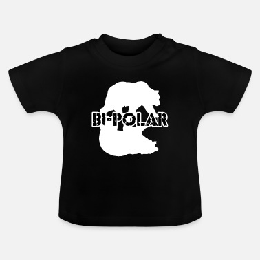 Polar Polar bear iceberg Winter animal Arctic polar bear threatened - Baby T-Shirt