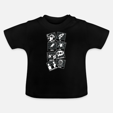 Video Logo for stor video game spiller - Baby T-shirt