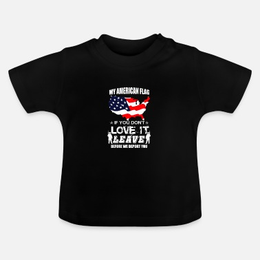 Us US flag - Baby T-shirt