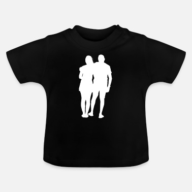 Arme Arm in Arm - Baby T-Shirt