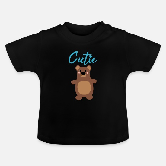 Fur Baby Clothes - Cutie - Baby T-Shirt black