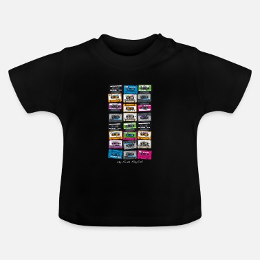 Hip My First Playlist-hip hop - T-shirt Bébé