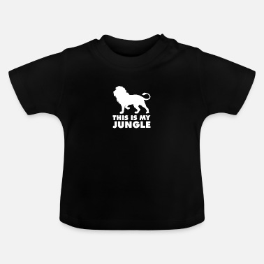 Jungle Dit is mijn jungle - Baby T-shirt