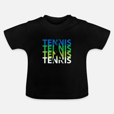 Court tennis court - Baby T-Shirt