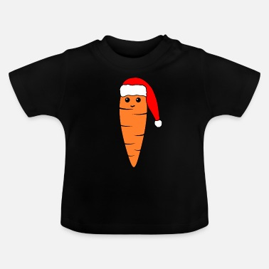 Cute Carrot Christmas - Baby T-Shirt