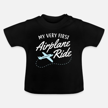 Flug My Very First Airplane Ride - Baby T-Shirt