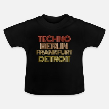 Special Techno Musician Music Synthesizer keyboard - Baby T-Shirt
