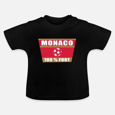 Monaco Monaco football - T-shirt Bébé