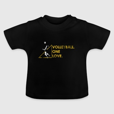 Funny Volleyball Gift Beach Volleyball Volleyballer - Baby T-Shirt