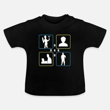 Daddy Daddy - Baby-T-shirt