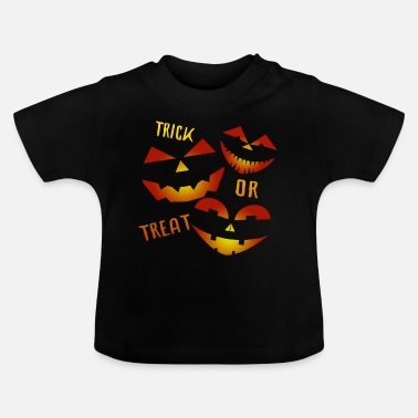 Trick Or Treat Trick or Treat Trick ou friandise - T-shirt Bébé