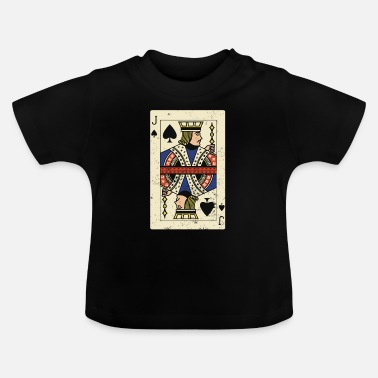 Cards Jack Card Poker Card - T-shirt baby