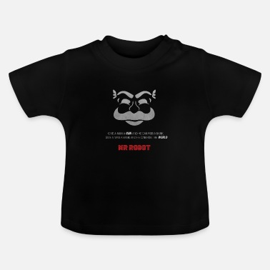 Serie Mr Robot - Fsociety - Baby T-Shirt