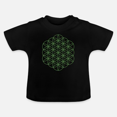 Trance Livets blomma 19 - Baby-T-shirt
