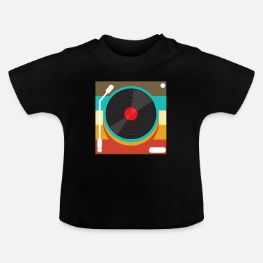 Turntable Turntable retro - T-shirt baby