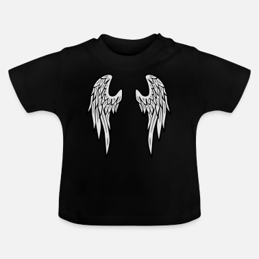 Angels And Rebels Angel Wings Feather - Baby T-Shirt