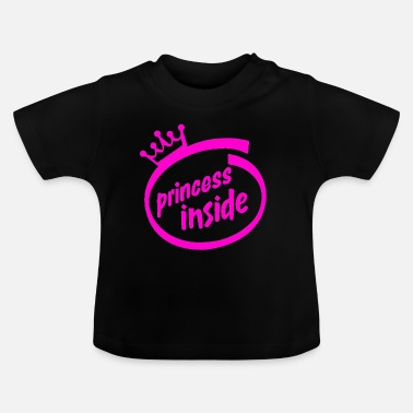 Princess inside - T-shirt Bébé
