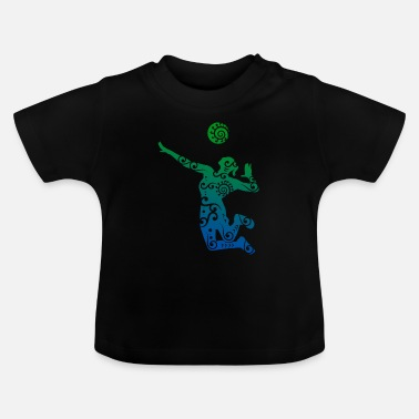 Volleyballbus Volleyball player Maori style gift idea - Baby T-Shirt
