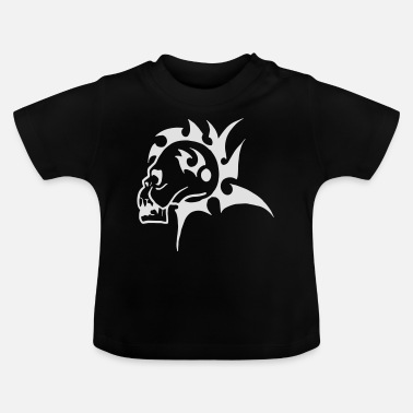 Mohawk Mohawk Schedel - Baby T-shirt