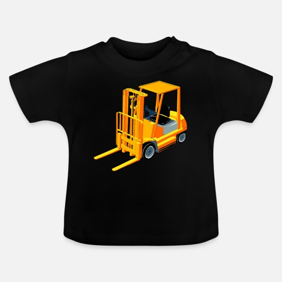 Construction Baby Clothes - construction mechanic construction maurer66 - Baby T-Shirt black