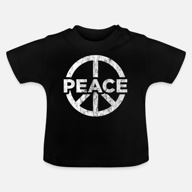 Global Peace Peace globalization peace sign - Baby T-Shirt