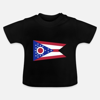Ohio Flag Ohio - Camiseta bebé