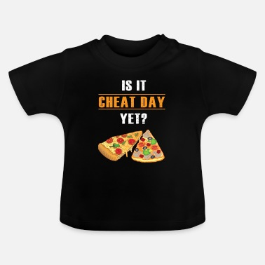 Italien Cheat Day Pizza Fitness Funny Gift - T-shirt Bébé