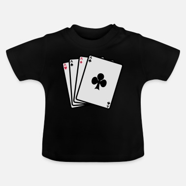 Cards poker cards - T-shirt baby