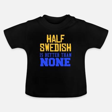 3b712d101a13 Sverige Sverige flagg land Stockholms Skandinavien - T-shirt baby