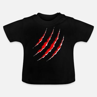 Scratch claw scratch - Baby T-shirt