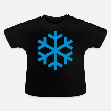 Icon Snowflake Weather Icon Icon - Baby-T-shirt