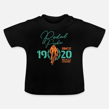 Since 1920 Pedal Pusher Since 1920 Bicycle Legend - Baby T-Shirt