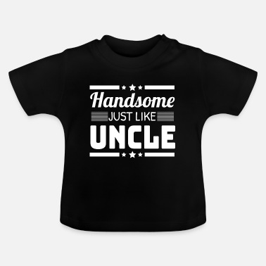 Gift Baby Onkel Onkel Brorson Systerson Gift - Baby T-Shirt