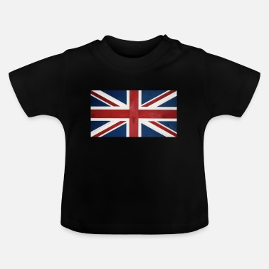 British Flag UNion Jack T-shirt - Baby T-Shirt