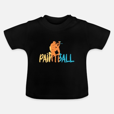 Paintball Paintball - T-shirt Bébé