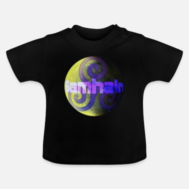 Dark Side Samhain: the light side and the dark side - Baby T-Shirt