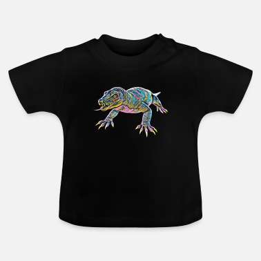Monitoring Monitor lizard - Baby T-Shirt