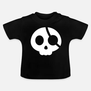 Eye Patch Skull with an eye patch - Baby T-Shirt