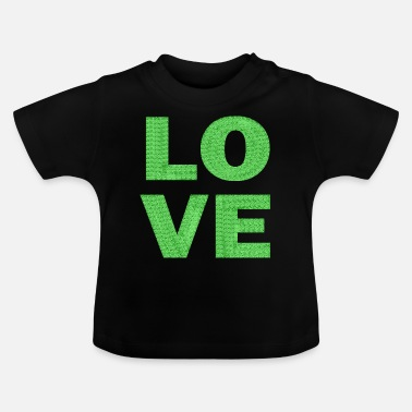 love light green lace - Baby T-Shirt